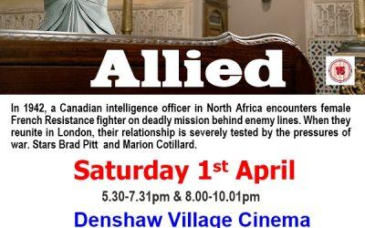 What's On: Denshaw Village Cinema