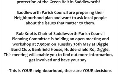 Diggle Community Association: Neighbourhood Planning Workshop
